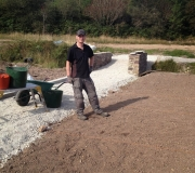 Gary-Prendergast-working-on-the-lawns.